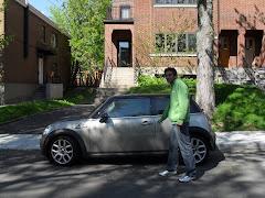 Um carro????Para a Famille Franca
