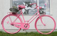 Ieškokite rožinio dviračio!