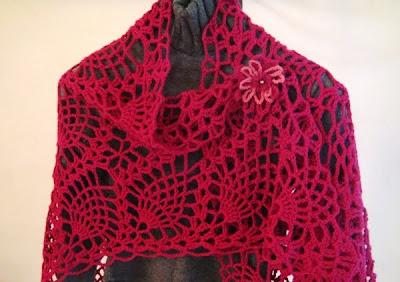 WEDDING SHAWL CROCHET PATTERN - Online Crochet Patterns