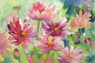 flowers art washes - photo #39