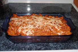 baked rigatoni vegetarian,
