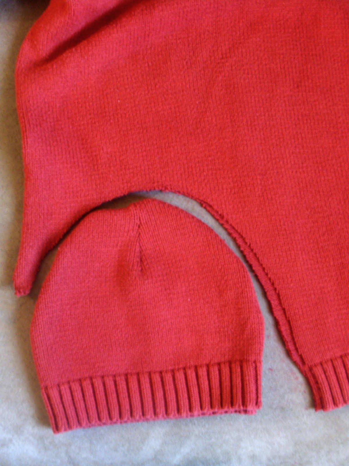 Шапка из старого свитера своими руками пошагово 23