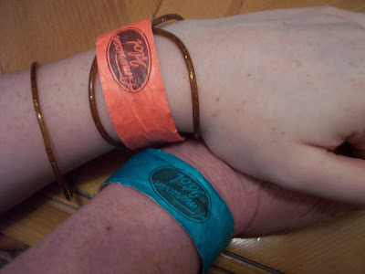 American Idol audition wrist bands