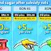 Fuel, sugar prices go up