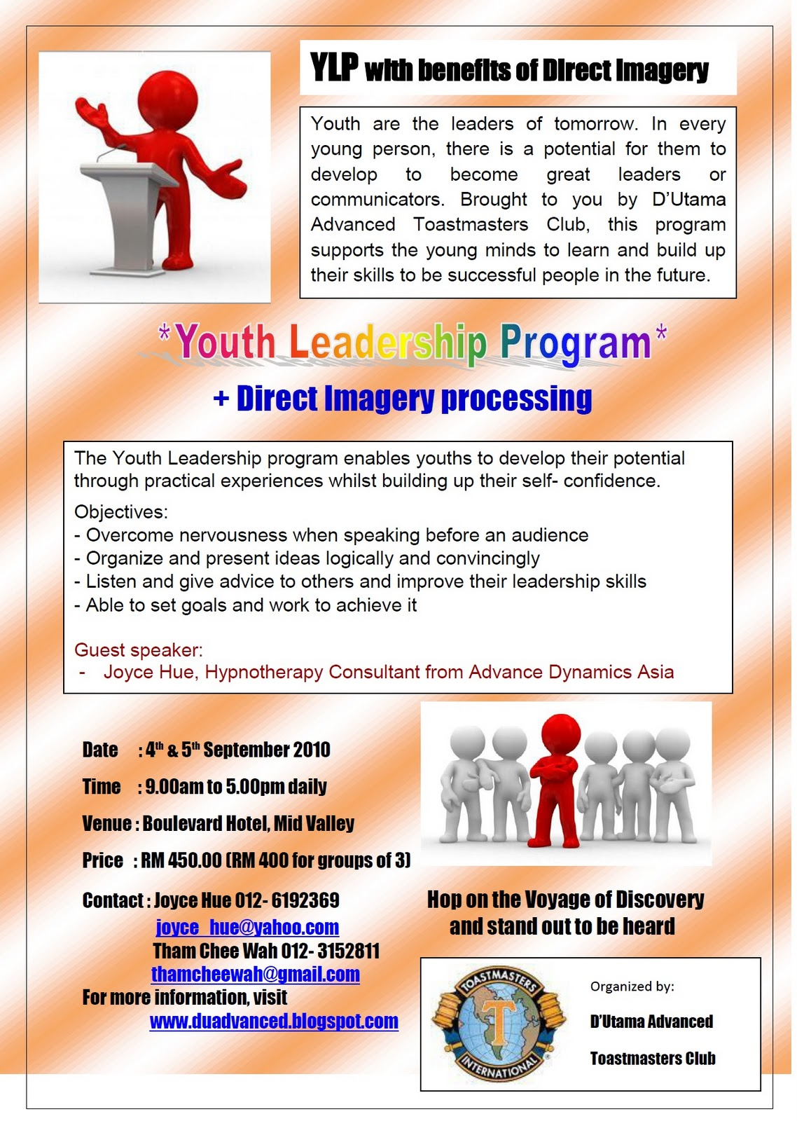 youth adult leadership training