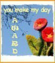 U make my day award...