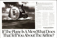 American Airlines, Bozell-Jacobs-Kenyon-and-Eckhardt, Aadvantage, Lenier Temmerlin, Temmerlin-McClain,Bob Crandall, Bob Dole, DOT, Elizabeth Dole, Flights cancelled, Robert Crandall, Safety, Flying Trashcan, Flying Trash Can, Patrick Scullin, Geof Kern