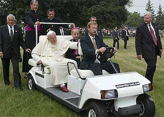Pope Benedict XVI, Catholic Church, Nike, Papal, Jesus, Pontiff, Vatican, Satire, Tiger Woods,