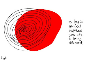 Joy, Shit, Hassle, Art, Inspiration, Passion, Concern, Issue, Problem, Seth Godin,  Hugh MacLeod,  Gapingvoid,