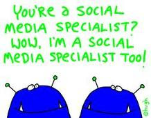 Certified, Social Media Marketing Specialist, Facebook, Newton's Law, Twitter,