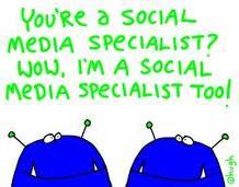 Certified, Social Media Marketing Specialist, Facebook, Newton's Law, Twitter,