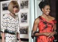 Alexander McQueen, MILTF, M.I.L.T.F., Anna Wintour, Barbra Streisand, Jackie Kennedy, Michelle Obama, Political Satire