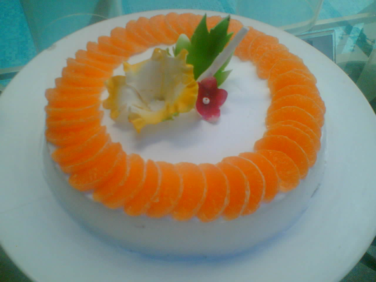 CHEF RAGHU: CREAMY ORANGE CHEESECAKE BY CHEF RAGHU
