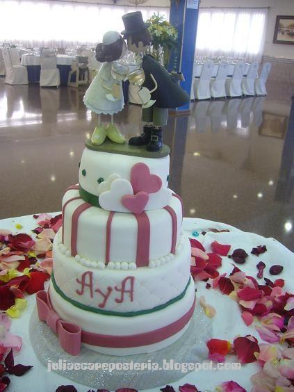 Magasin Cake Design Lausanne : La boutique de las tartas - Cake Design: Tarta de boda ...