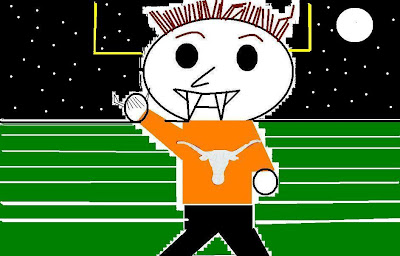 Even Vampires Hook'um Horns Baby!!