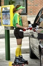 Sonic carhop chicks are my kind of sexy!