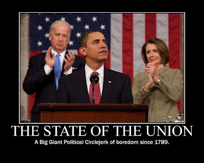 State Of The Union: We All KNOW it Really Sucks!!
