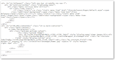 Car stylus sharepoint 2010 html markup changes in rendering for Html table markup