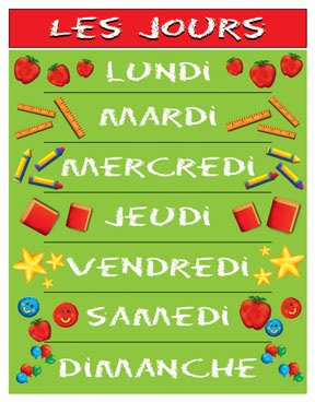 Days Of The Week In French - Lessons - Tes Teach