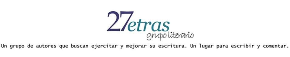 27 letras, grupo literario
