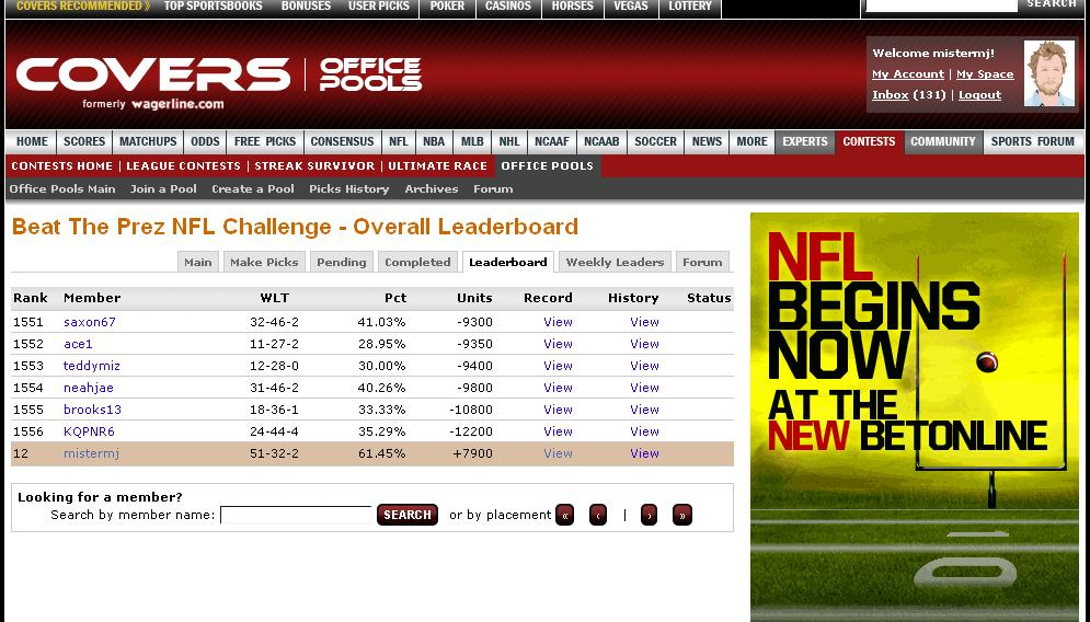 nfl lines scores and odds nfl results against the spread