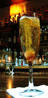 Classic Champagne Cocktail at Matterhorn