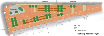 Courtenay Place Park - final plan