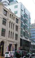 Old Wool House (centre), 139-141 Featherston St Wellington