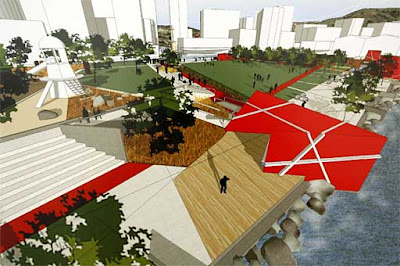 An entry in the Frank Kitts Park redesign competition