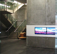 Lobby of the new Meridian Energy building