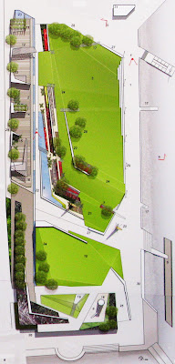 Frank Kitts Park redesign - Option D