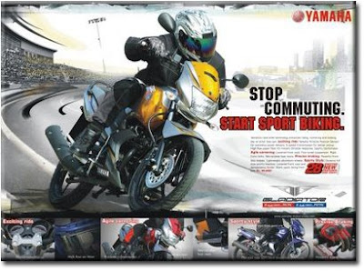 Stop Commuting, Start Sport Biking Ad