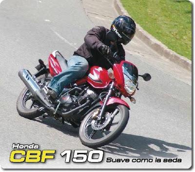 Honda CBF150 in Colombia