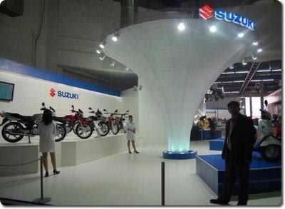 Suzuki Pavilion at Auto Expo 2008
