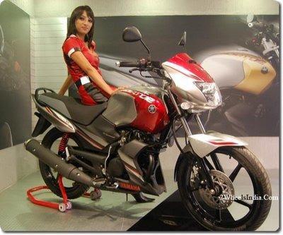 Facelifted Yamaha Gladiator