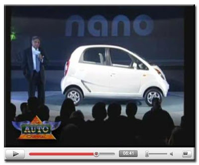 Mr. Ratan Tata and the Tata Nano @ AutoExpo 2008