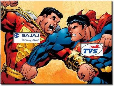 Bajaj Auto Vs TVS Motors