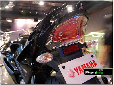 Tail Light of the Yamaha YZF-R15