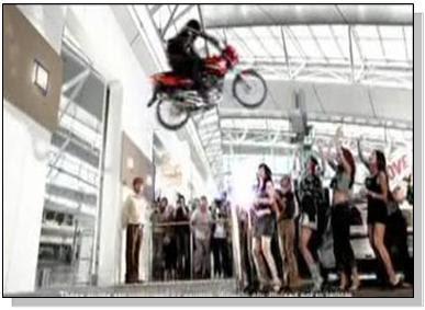 Yamaha Gladiator Ad