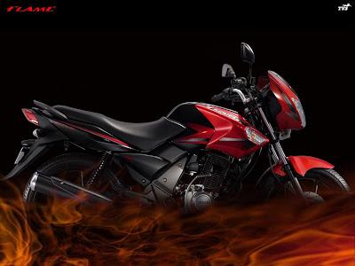 125 cc TVS Flame