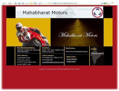 Mahabharat Motors Website