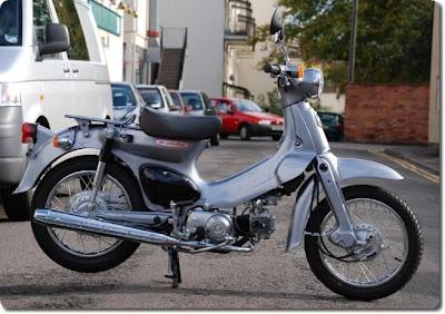 49 cc Honda Cub