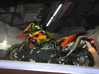 KTM 690SM @ Auto Expo 2010