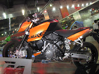 KTM 990 SuperDuke @ Auto Expo 2010