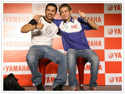 Rossi and John @ the Press Conference