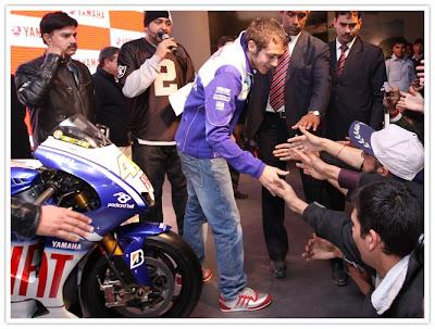Rossi @ AutoExpo 2010