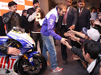 Rossi @AutoExpo 2010