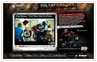 MTV Pulsar Maniacs Video