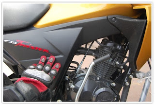 Honda CB Twister Side Panels
