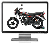 2010 Bajaj Platina Wallpaper